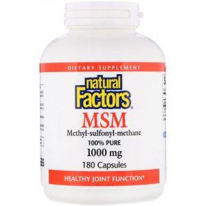 Метилсульфонилметан (МСМ) для здоровья суставов, ногтей, волос и кожи