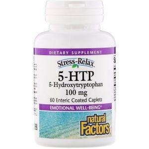 ТриптофанNatural Factors, 5-HTP