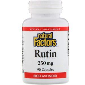 Рутин — мощный антиоксидант