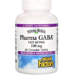 Аминокислота GABA от стресса
