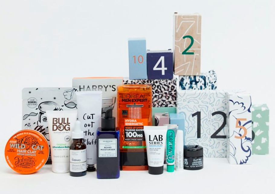 Asos Men's Grooming 12 Day Advent Calendar 2020