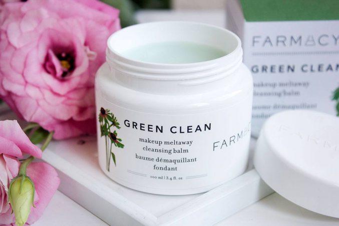 Гидрофильный бальзам FARMACY Green Clean Make Up Meltaway Cleansing Balm — отзыв