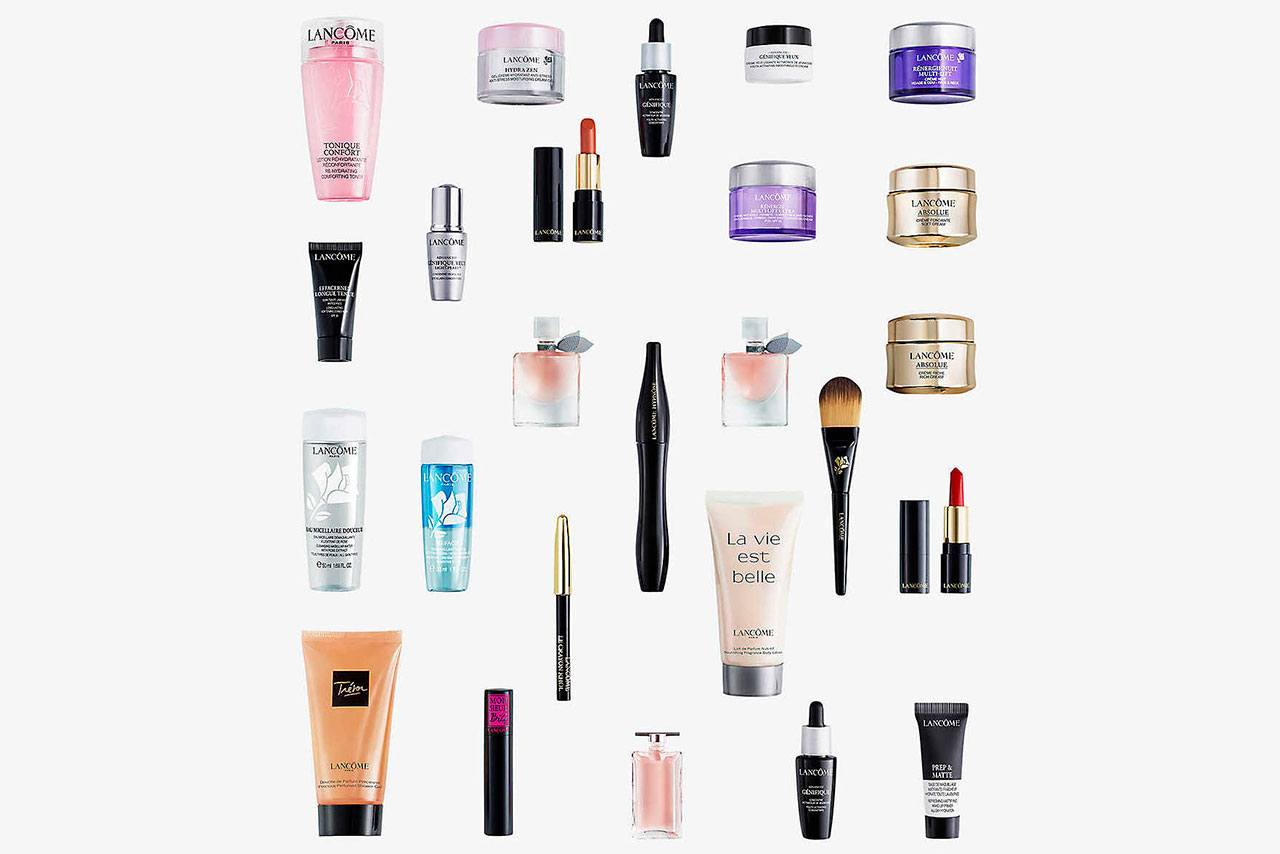 наполнение Lancome Beauty Advent Calendar 2020