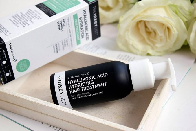 Средство для волос The Inkey List Hyaluronic Acid Hydrating Hair Treatment — отзыв