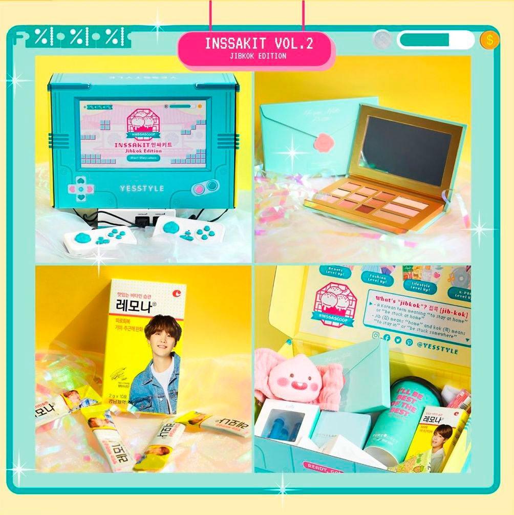 набор YesStyle INSSAKIT - Vol.2 Jibkok Edition Box Set