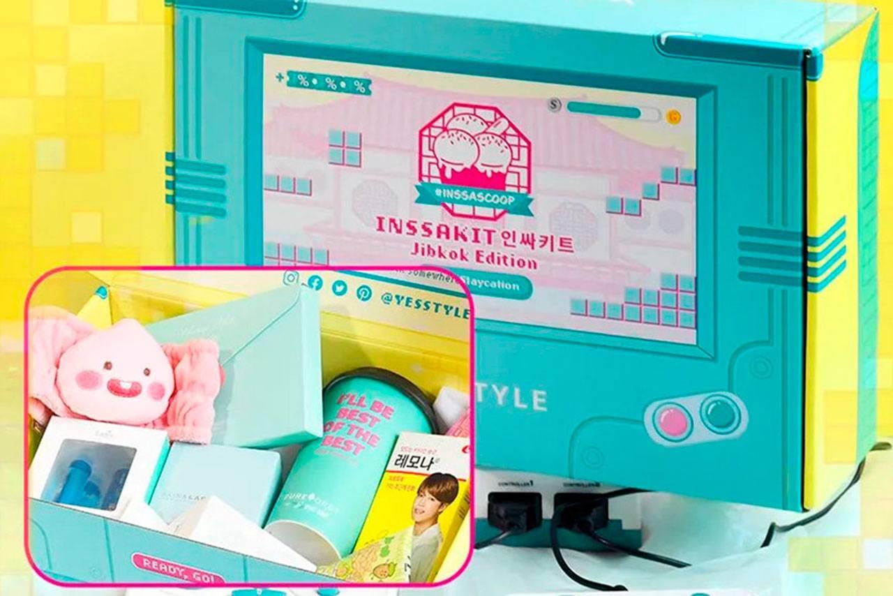 YesStyle INSSAKIT - Vol.2 Jibkok Edition Box Set