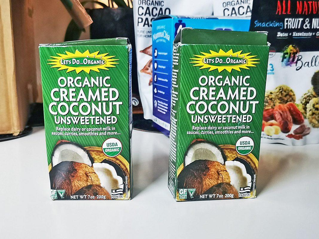 Мои покупки с iHerb - creamed coconut