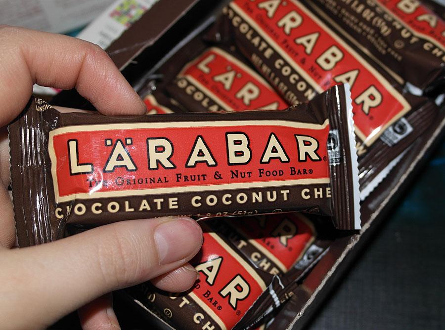 Полезные батончики Larabar
