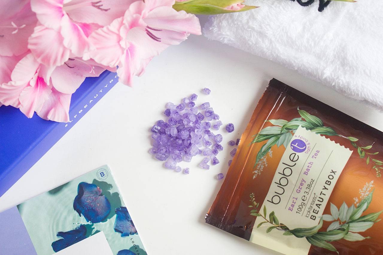 Bubble T Earl Grey Bath Tea - Lookfantastic Beauty Box октябрь 2020