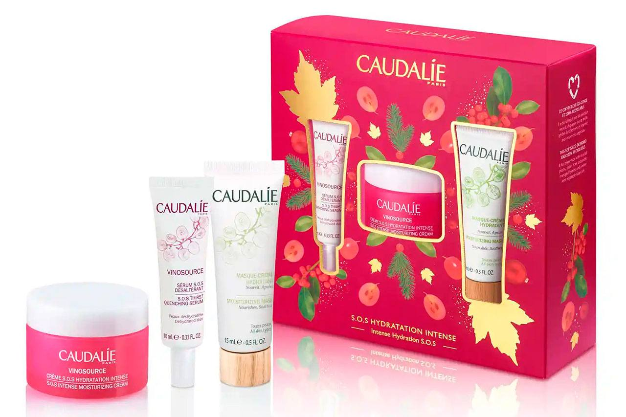 Caudalie Intense Hydration S.O.S Vinosource Cream Gift Set