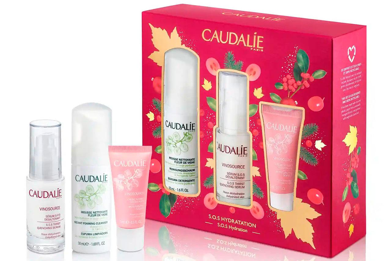 Caudalie S.O.S Hydration Vinosource Serum Gift Set