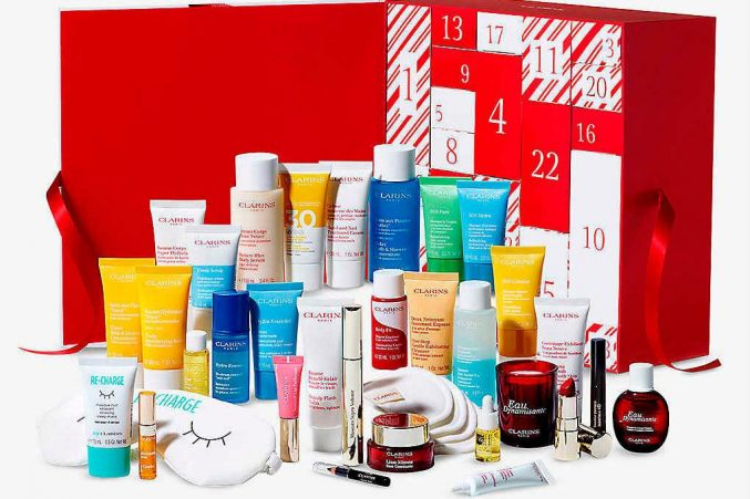 Clarins Advent Calendar 2020 — наполнение