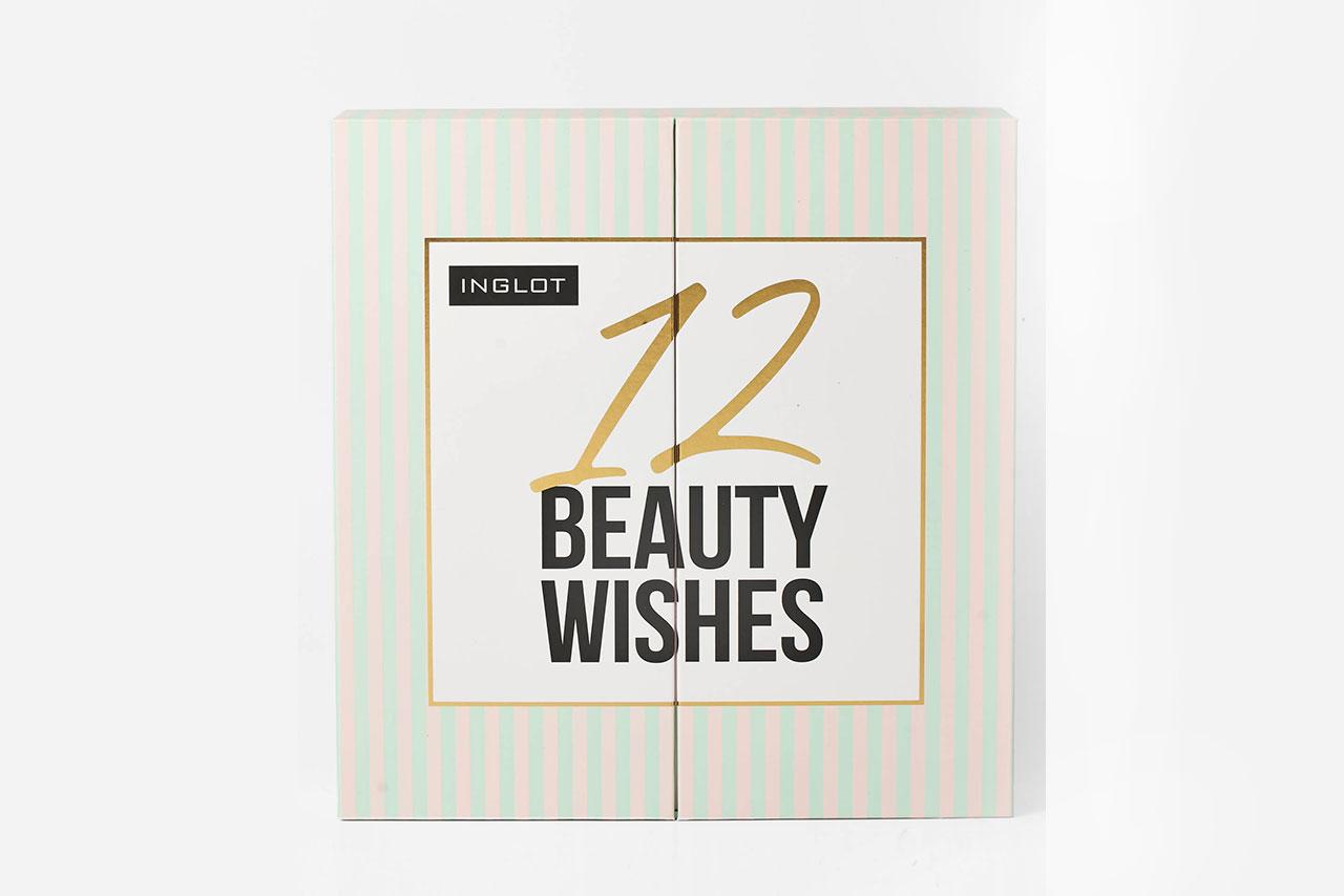 календарь Inglot 12 Beauty Wishes Advent Calendar 2020