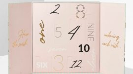 Inglot 12 Beauty Wishes Advent Calendar 2020 — наполнение