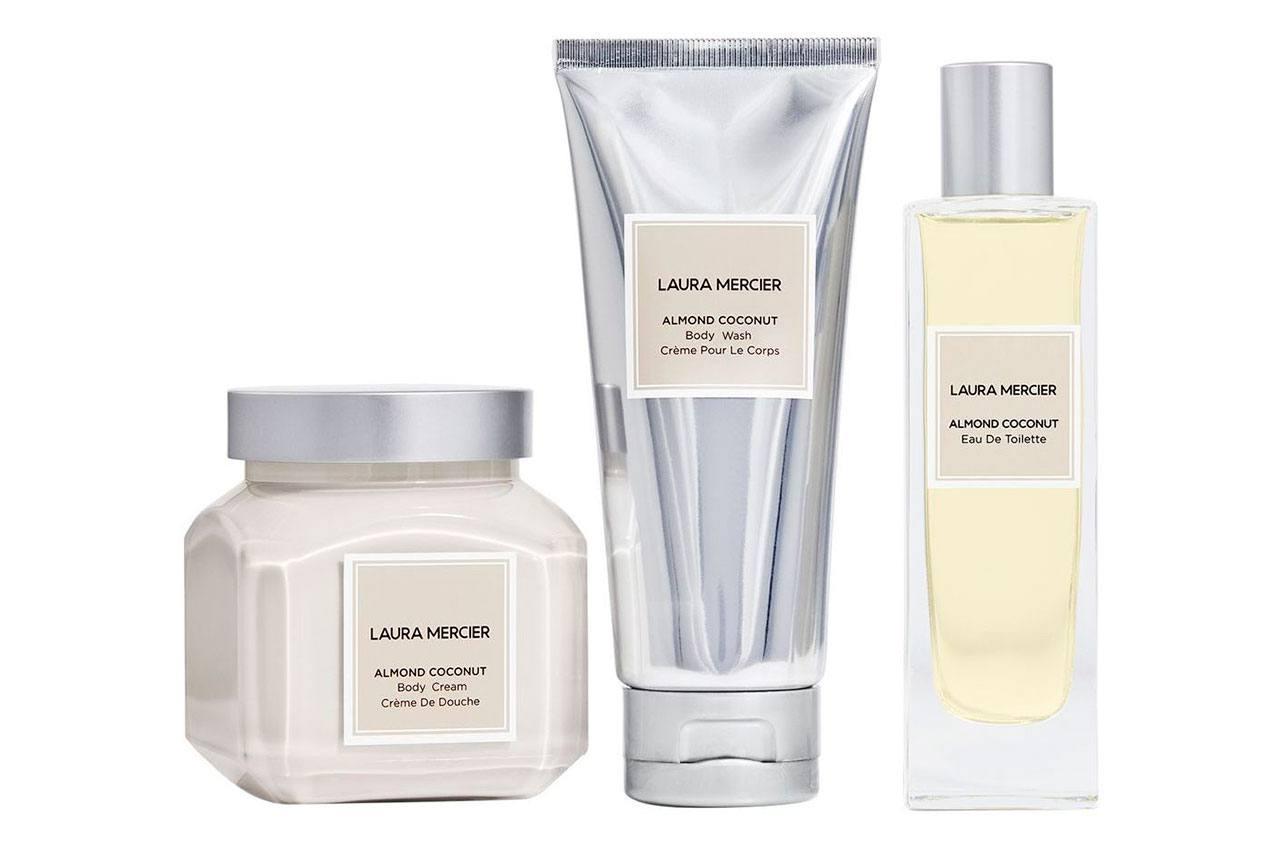 Laura Mercier Luxe Indulgence Almond Coconut Body Triplet