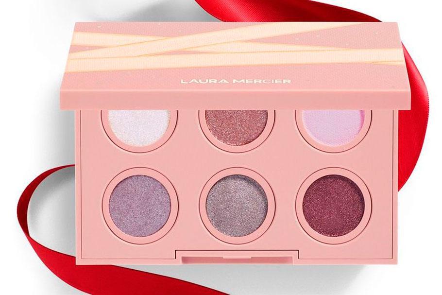 Laura Mercier Prima Ballerina Mini Eyeshadow Palette - Рождественская коллекция Laura Mercier 2020