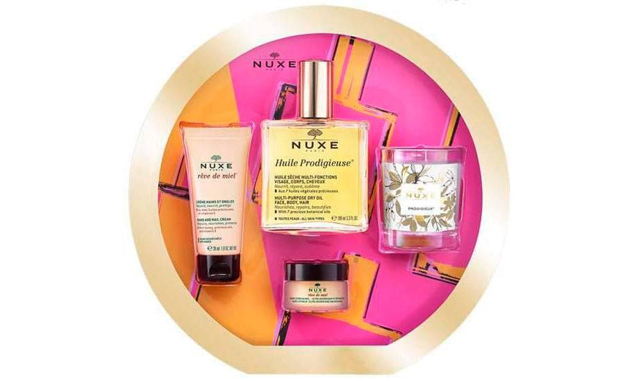 Nuxe Huile Prodigieuse Prodigieux Cult Gift Set - Prodigieusement Culte Рождественские наборы Nuxe 2020