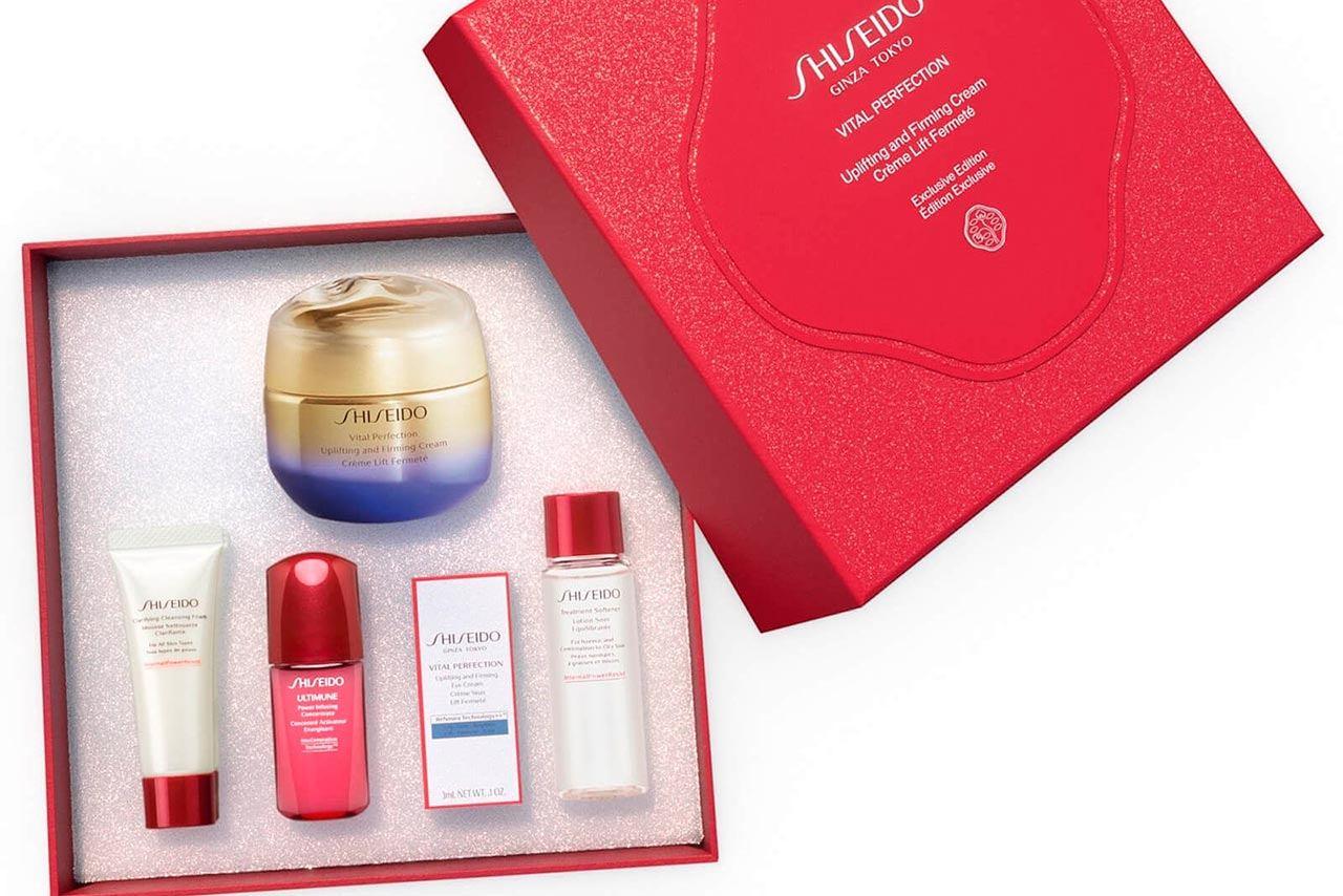Shiseido Vital Perfection Uplifting and Firming Cream Holiday Kit