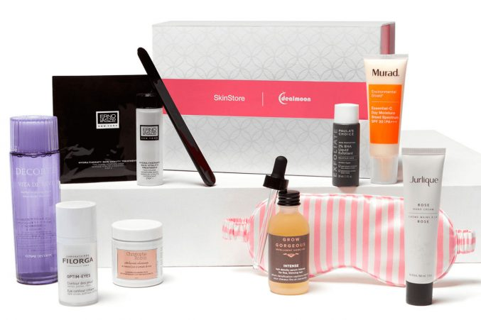 SkinStore Dealmoon Skin Superstars Limited Edition Box — наполнение