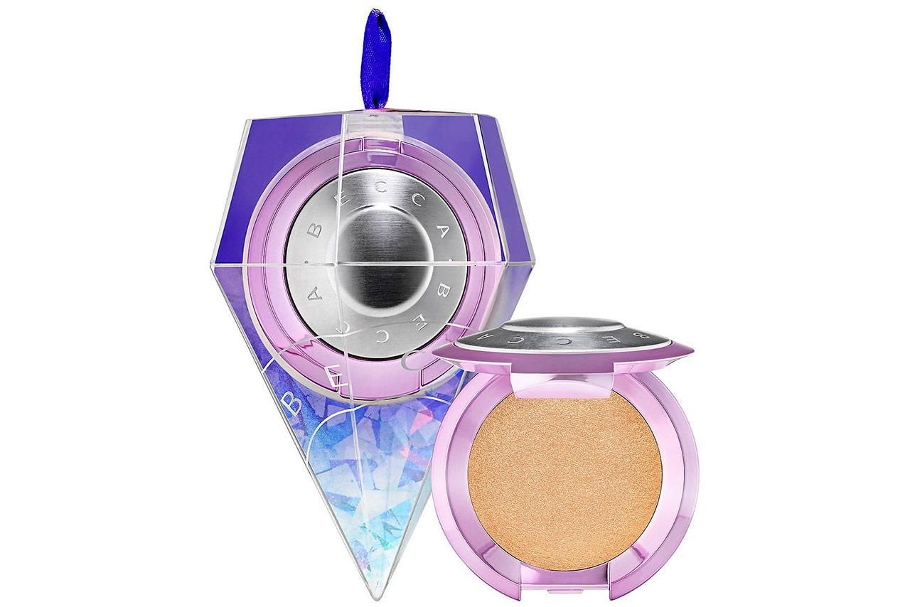 BECCA Shimmering Skin Perfector Pressed Mini Celebration Ornament