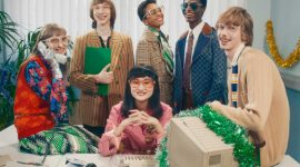 Образ Gucci для праздничной съемки