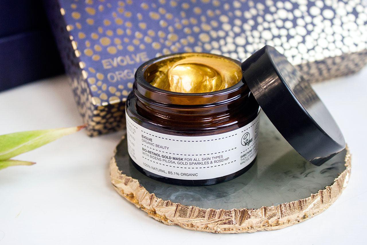 Evolve Beauty Bio-Retinol Gold Mask - Evolve Beauty Masking Trio