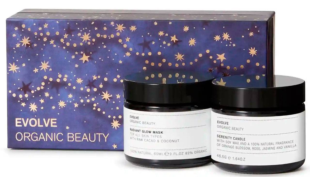 Evolve Beauty Candlelight Glow Collection Gift Set