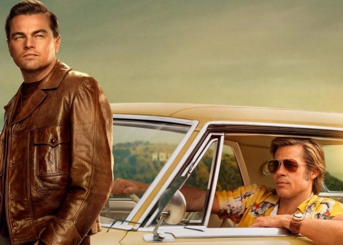 """""""Однажды в Голливуде"""": Брэд Питт и Ди Каприо в одном кадре"""