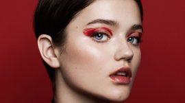 Новый год с Dior: smoky и красные губы