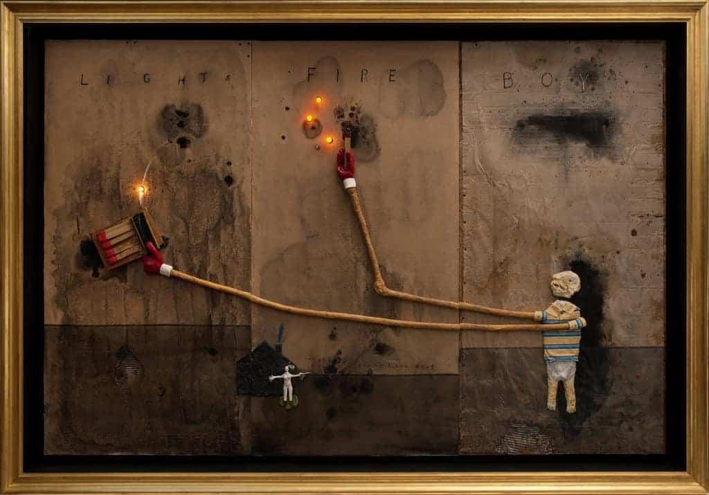 Картина Дэвида Линча