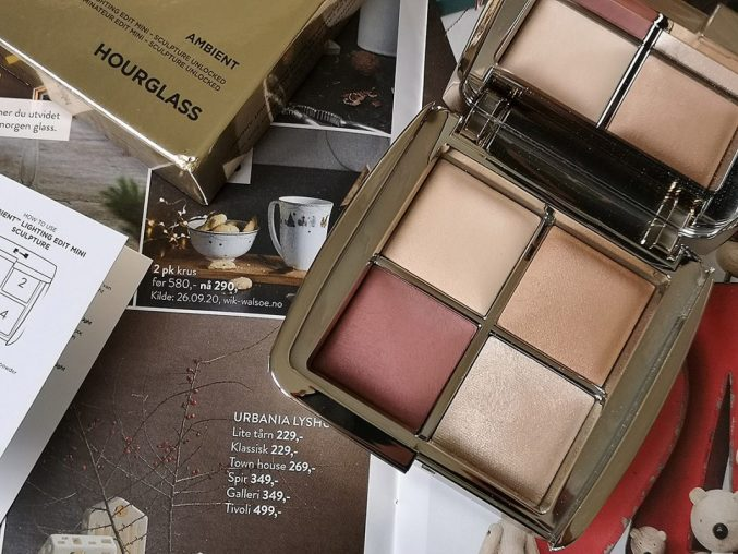 Палетка для лица Hourglass Ambient Lighting Edit Mini Sculpture Unlocked — отзыв