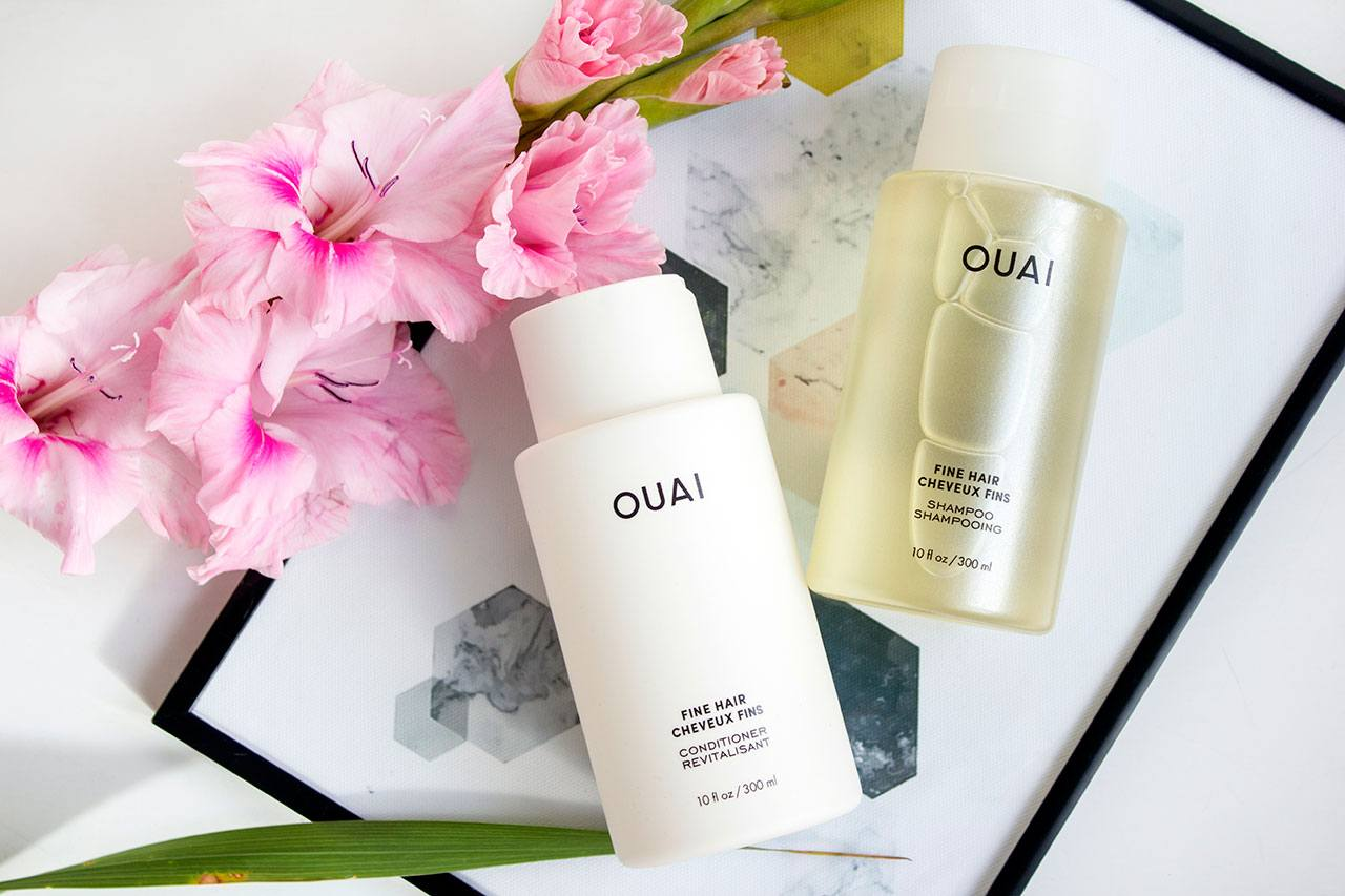 Шампунь и кондиционер для тонких волос OUAI Fine Hair — отзыв
