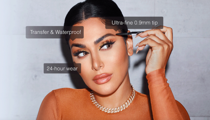 Лайфхаки Худы Каттан: как нарисовать брови