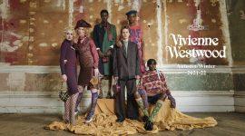 Образ для съемки коллекции Vivienne Westwood