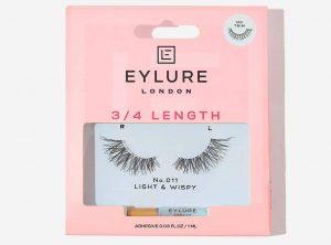 Eylure 3:4 Length Lashes No. 011 Light & Wispy