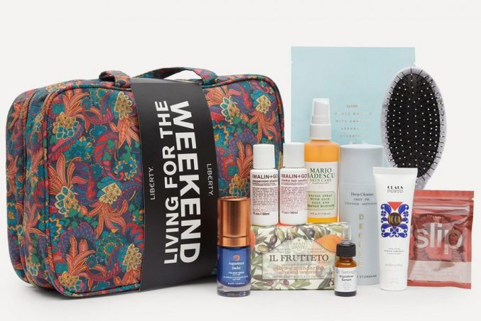 Liberty London Living for the Weekend Beauty Kit — наполнение