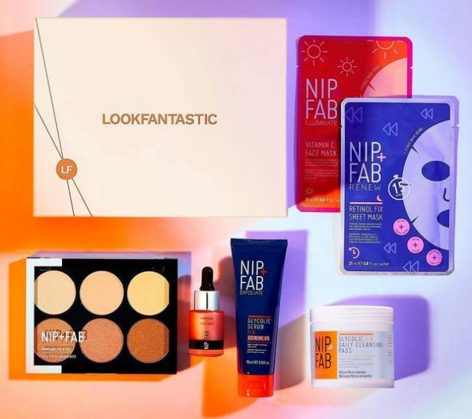 Lookfantastic x NIP+FAB Limited Edition Beauty Box — наполнение