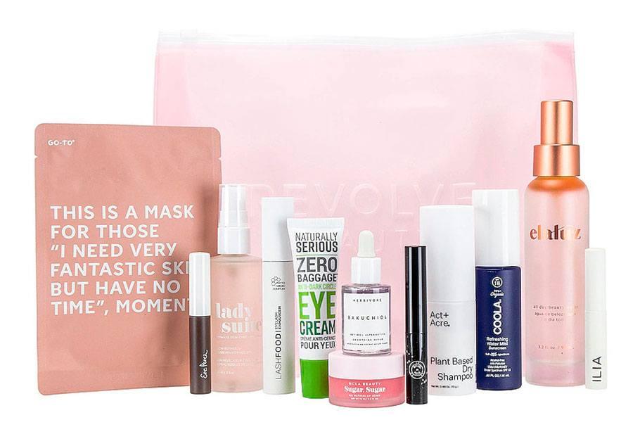 Revolve Clean Beauty Bag 2021