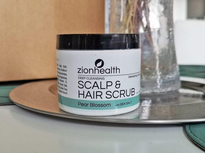 Zion Health Deep Cleansing Scalp & Hair Scrub — отзыв