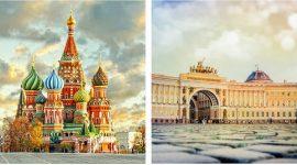 Москва vs Санкт-Петербург