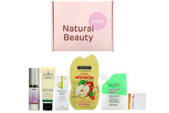 Бьюти-бокс iHerb Natural Beauty Box — наполнение
