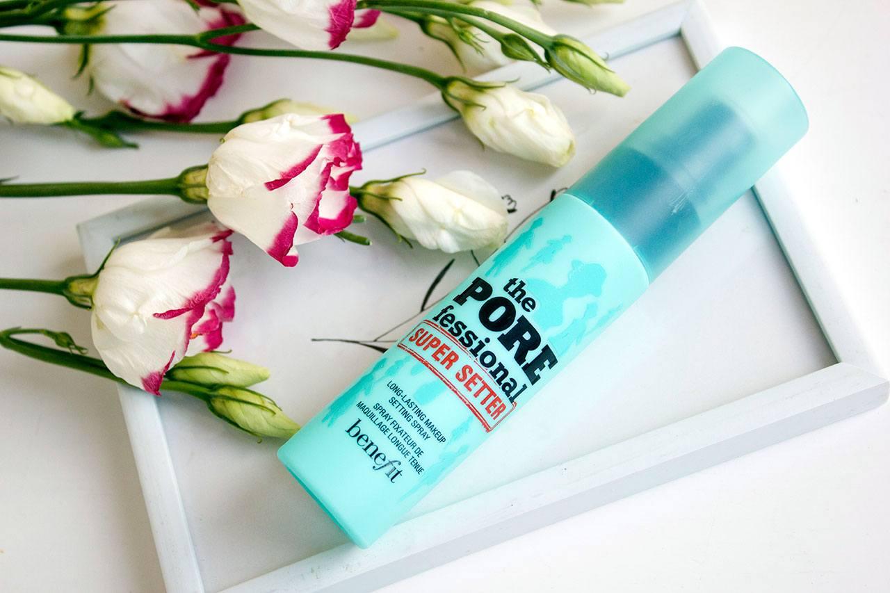 Спрей для фиксации макияжа Benefit Porefessional Setting Spray — отзыв