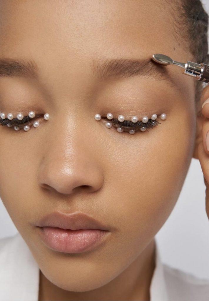 Макияж с показа Dior
