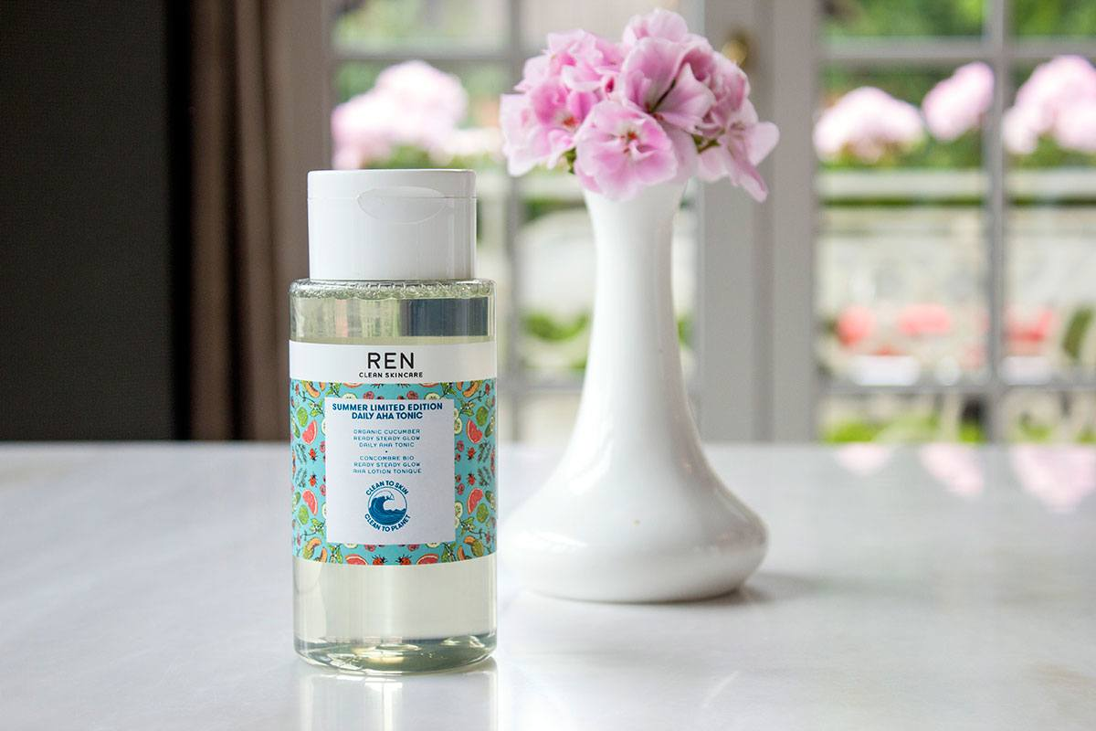 REN Clean Skincare Summer Limited Edition Daily AHA Tonic