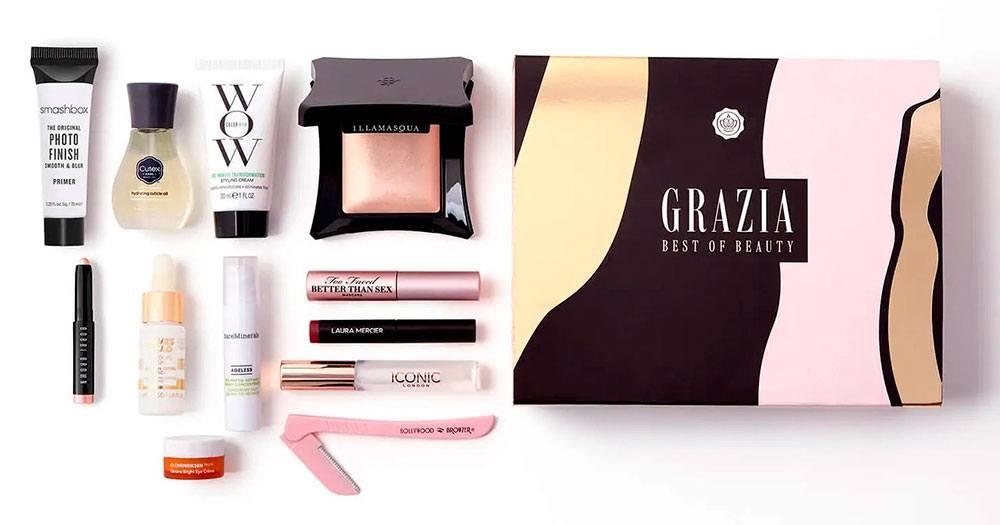 Glossybox UK June Grazia Best of Beauty Box 2021