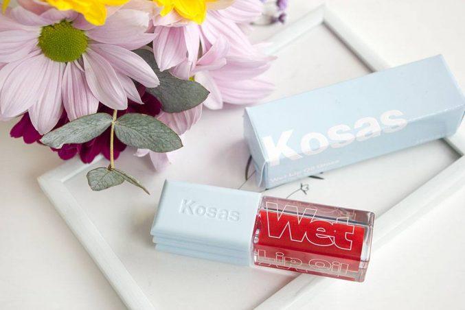 Масло-блеск для губ Kosas Wet Lip Oil Gloss в оттенке Jaws — отзыв