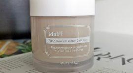 Dear Klairs Fundamental Water Gel Cream — отзыв
