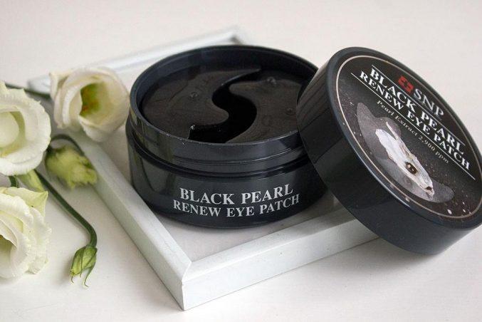 Патчи для век SNP Black Pearl Renew Eye Patch — отзыв