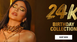 Блеск золота: коллекция Kylie Cosmetics