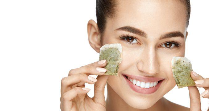 Зеленый чай: польза для кожи и маски для лица